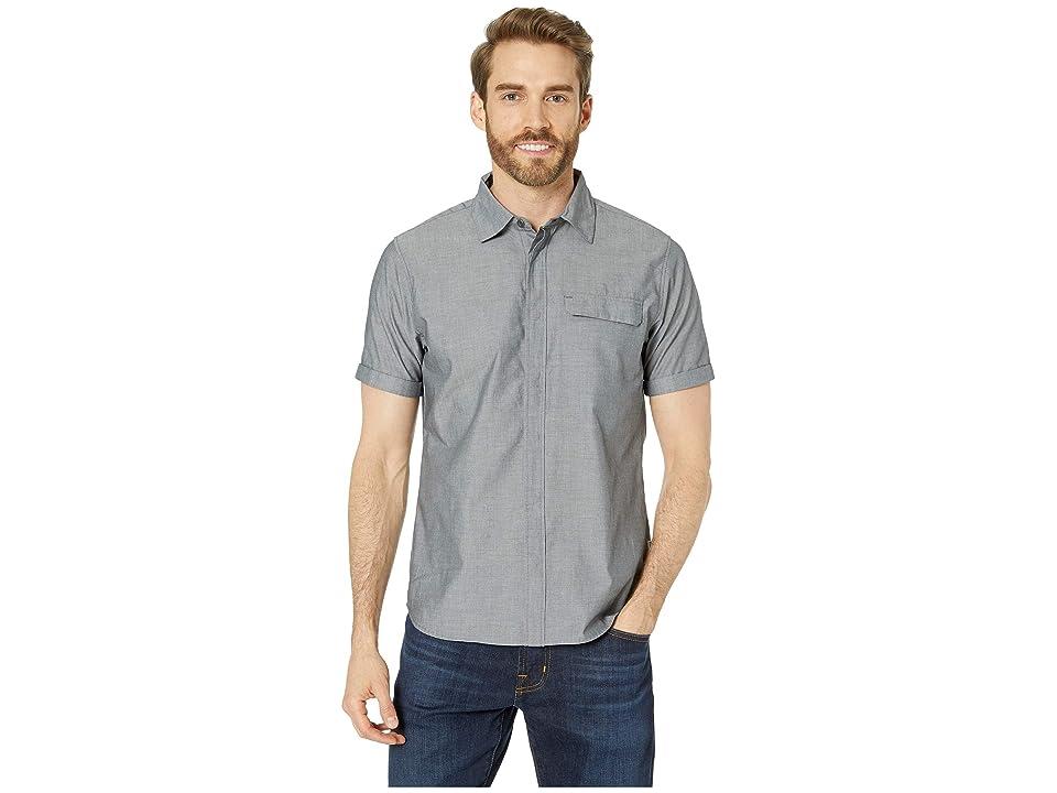 Helly Hansen Huk Short Sleeve Shirt (Ebony) Men