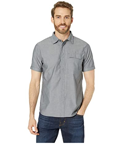 Helly Hansen Huk Short Sleeve Shirt (Ebony) Men