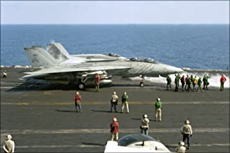 20x30 Poster; F-14A Tomcat Vf-84 Jolly Rogers Uss Theodore Roosevelt