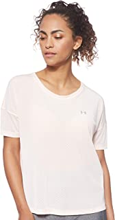 Under Armour Women's Armour Sport Mesh Oversized SS TEES AND T-SHIRTS