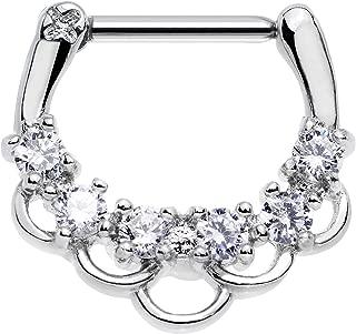 Best princess septum ring Reviews