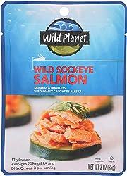 Wild Planet Wild Sockeye Salmon, 3 Ounce