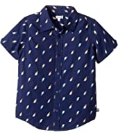Splendid Littles - All Over Printed Lightning Bolts Woven Shirt (Little Kids/Big Kids)