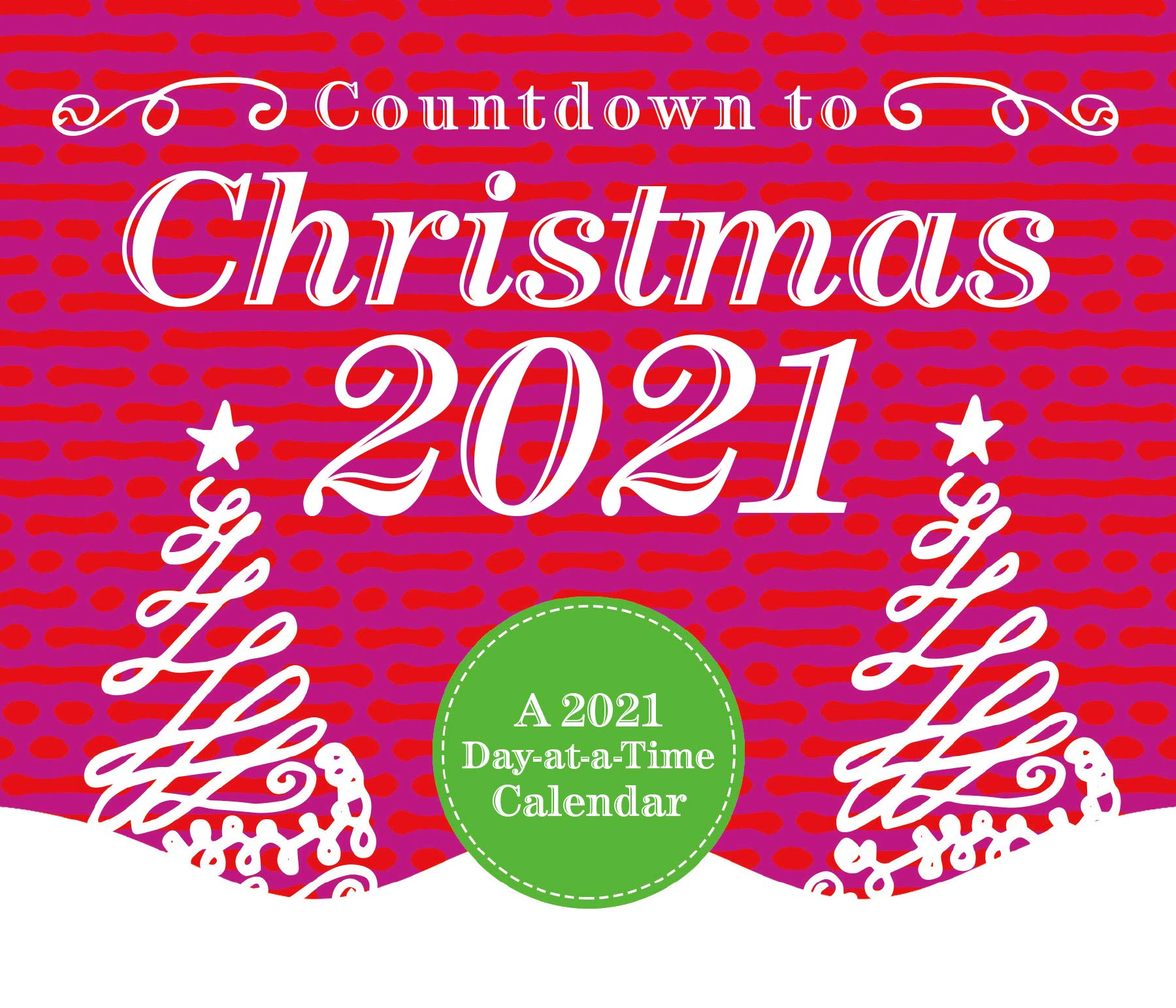 2021 Countdown To Christmas Countdown To Christmas 2021 Calendar Box Edition Bundle Deluxe 2021 Countdown To Christmas Day At A Time Box Calendar With Over 100 Calendar Stickers Xmas Gifts Office Supplies Buy Online At Best Price In
