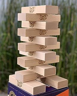 Jenga 12-Block Booster Pack Giant Premium Hardwood Game