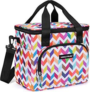 JungleTrack Insulated Lunch Box Lunch Bags for Women Large Capacity Lunch Bag Cooler Bag with Adjustable Shoulder Strap