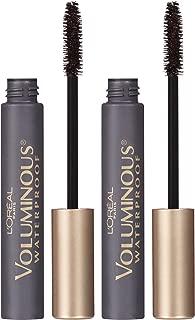 L'Oreal Paris Makeup Voluminous Original Volume Building Waterproof Mascara, Black, 2 Pack