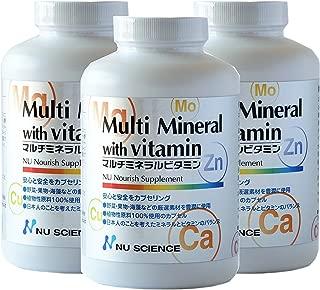マルチミネラルビタミン 3個セット 杏林予防医学研究所検定品
