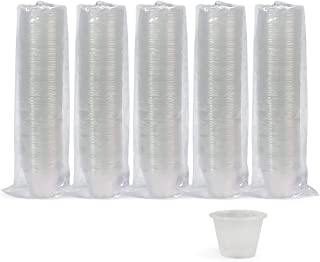 Medpride Disposable, Graduated, Plastic Medicine Cups- Bulk Set of 500, 1 Ounce Cups with Volume, Dosage Measure-for Mixed...
