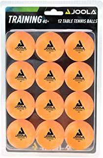 JOOLA Training 3 Star Table Tennis Balls 12, 60, or 120 Pack - 40mm Regulation Bulk Ping Pong Balls for Competition and Recreational Play - Fun as a Cat Toy - Indoor and Outdoor Compatible