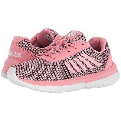 K-Swiss Tubes Infinity (Big Kid) (Flamingo Pink/White) Athletic Shoes