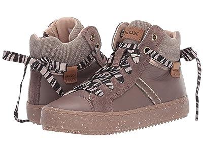Geox Kids Geox x WWF Jr Kalispera 28 (Little Kid) (Smoke Grey) Girls Shoes