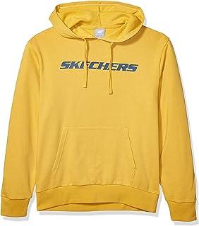 Skechers mens Heritage Pullover Hoodie Sweatshirt Sweatshirt