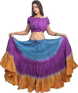Women's ATS Tribal Dip Dye 25 Yard Skirt