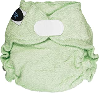 Imagine Baby Products Newborn Fitted Bamboo Diaper 2.0, Emerald, H&L