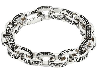 John Hardy Classic Chain Jawan Link Bracelet (Silver) Bracelet