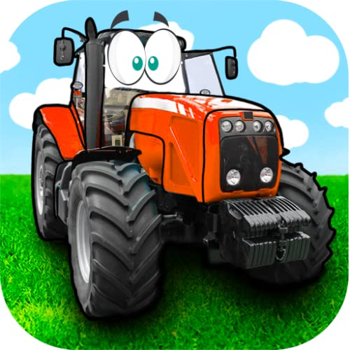 Farm tractor games free: Kids free activity driving app