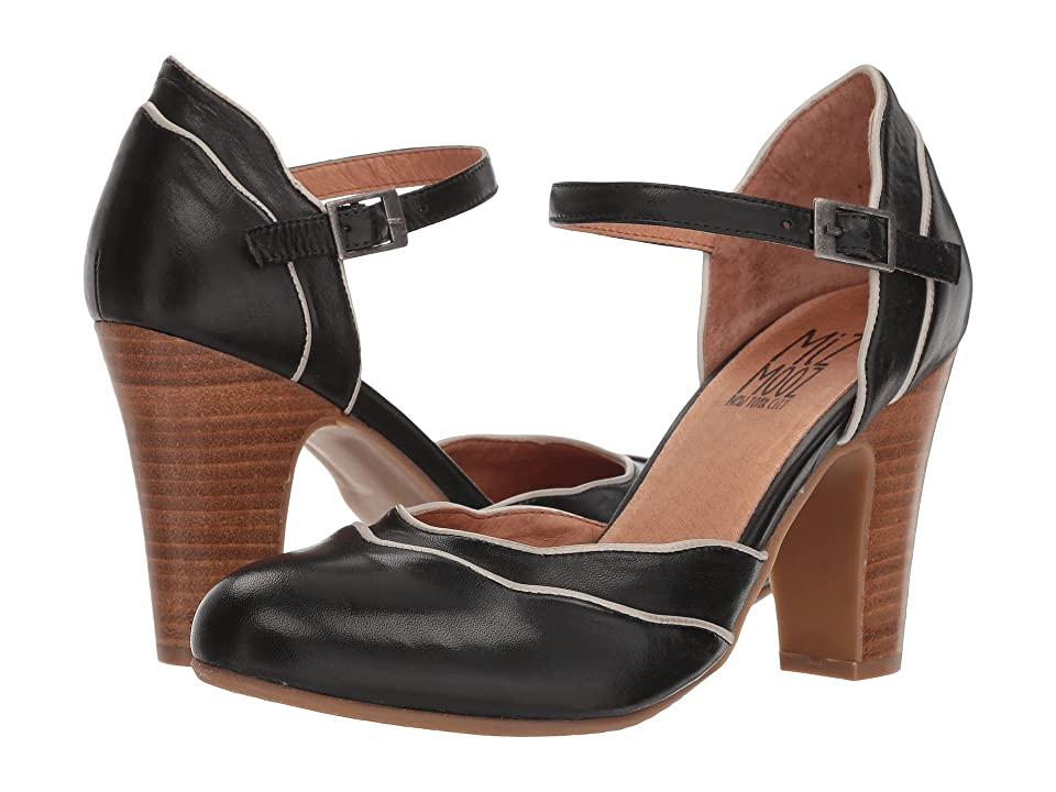 Miz Mooz Jagger (Black) High Heels