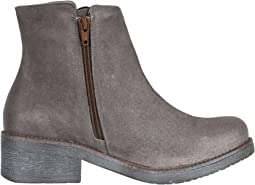 Brushed Taupe Gray Suede