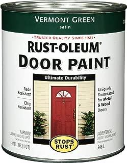 Rust-Oleum 238316 Door Paint, Vermont Green, 1-Quart