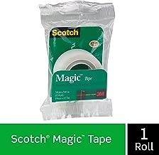 إعادة تعبئة شريط سحري من علامة Scotch التجارية، لمسة نهائية غير لامعة، الأصل، 3/4 × 500 بوصة (205)