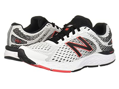 New Balance 680v6 (White/Black) Men