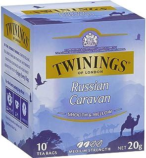 5 Pack of Twinings Russian Caravan Tea Bags 10pk 20g