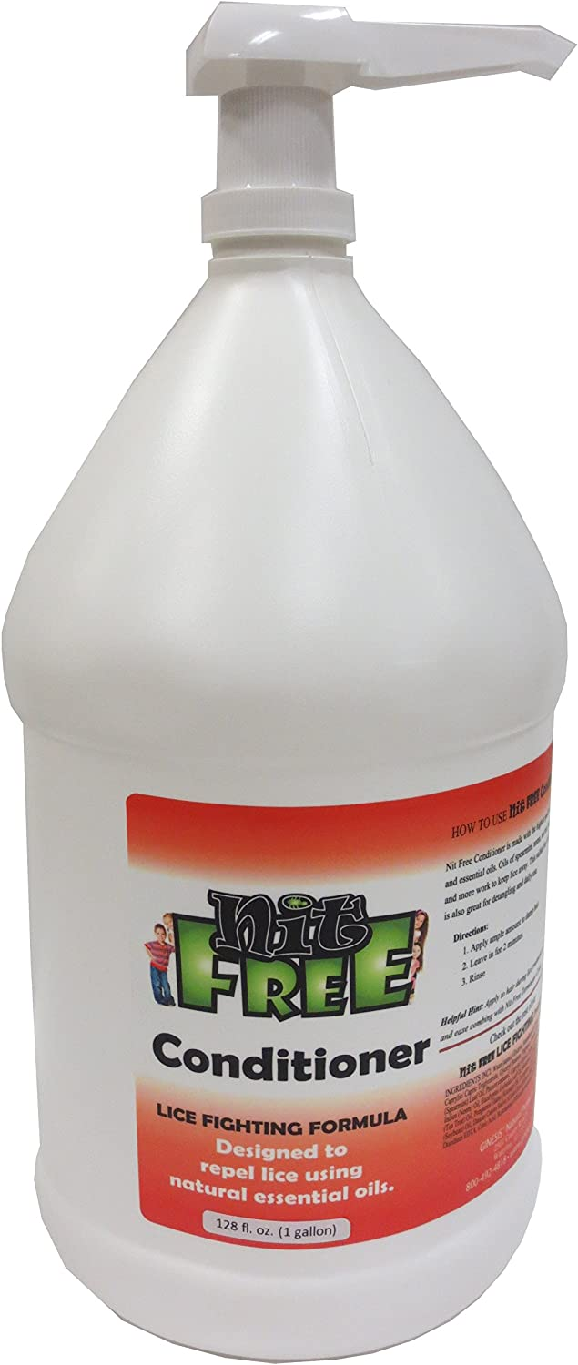 Nit Free 2021 model 1-Gallon Conditioner Fees free