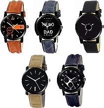 Stysol Pack of 5 Black Dial Men's Watch GV001V396