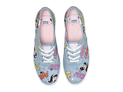 Keds Keds x Betty and Veronica Champion Pop Print (Indigo Denim) Women