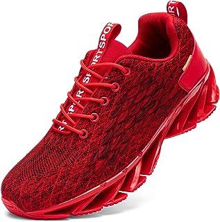 Kefuwu Chaussures de Sport Homme Femme Course Trail Entraînement Respirantes Fitness Tennis Outdoor Gym Sneakers