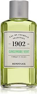 Berdoues 1902 Gingembre Vert Eau De Cologne Tradition Splash for Men, 8.3 Oz