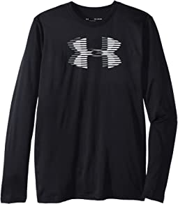 Tech Big Logo Long Sleeve (Big Kids)