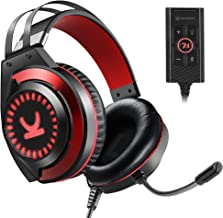 VANKYO Gaming Headset CM7000 with Authentic 7.1 Surround Sound Stereo PS4 Headset, Gaming Headphones with Noise Canceling ...