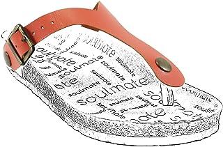 Soulmate Cindy Parmak Arası Sandalet Terlik Üst Bantı (Clove Taban Uyumlu)