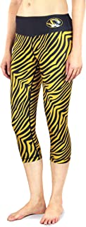 Forever Collectibles NCAA Womens Thematic Print Capri Leggings, Multiple Teams