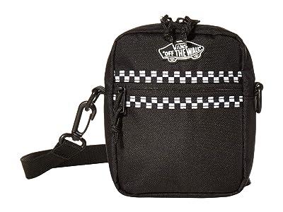 Vans Street Ready II Crossbody (Black/Microcheck) Handbags