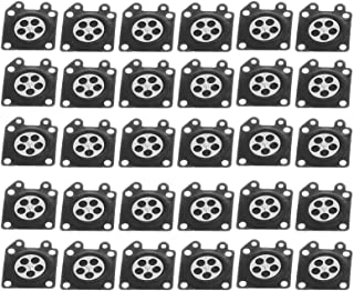 Carburateur Diafragma, 30 stks/set Carburateur Diafragma Pakking Kettingzaag Accessoire voor ZAMA 2500/3800/4500/5200/5800