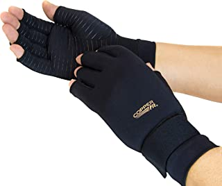 Copper Fit Unisex Hand Relief Compression Gloves