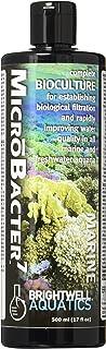 Brightwell Aquatics MicroBacter7 - Bacteria & Water Conditioner for Fish Tank or Aquarium, Populates Biological Filter Med...
