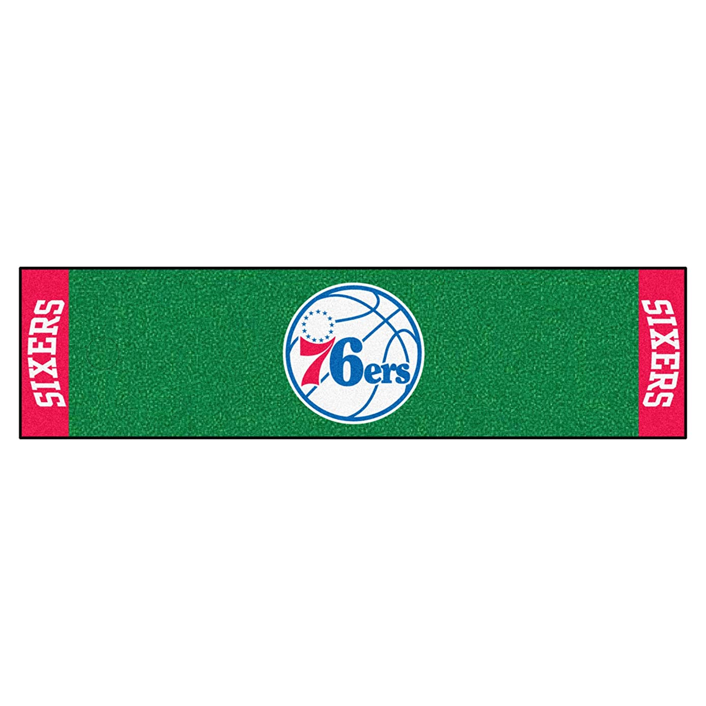 FANMATS NBA Philadelphia 76ers Nylon Face Putting Green Mat