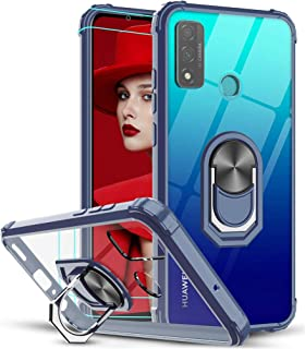 Case for Huawei P Smart 2020, [360° Rotating Stand] [5 Times Military Grade Anti-Fall Protection],Transparent hard Back Co...