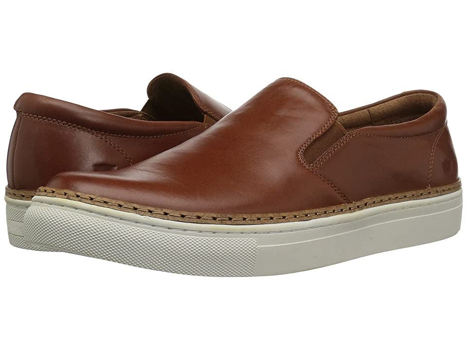 Florsheim Pivot Plain Toe Slip-On (Cognac Smooth) Men