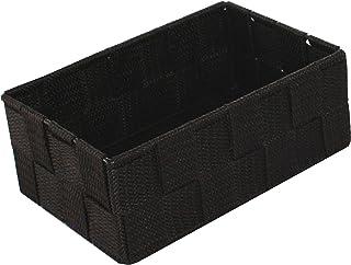 Compactor Home Support de Stockage Rayonne Ceinture Tex Organiseur Chocolat