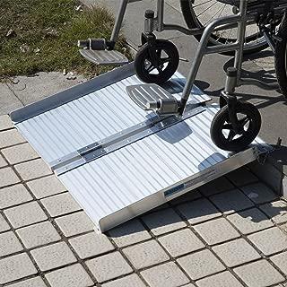Access Ramps Portable Mobility Loading Wheelchair Threshold Ramp Handicap Folding