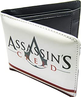 Poland Graphics Super Hero Men's Polypropylene Synthetic Wallet (White Assassin Creed)