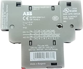 ABB Auxiliary switch for motor circuit breaker MS 116 HK1-11 Side-fitted (right)