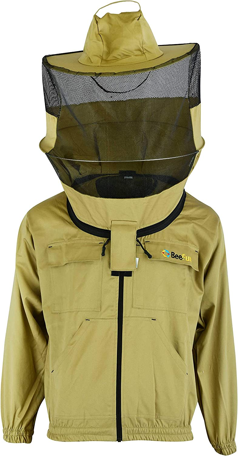 BeeFun Professional Beekeepers Jacket with Round Hat