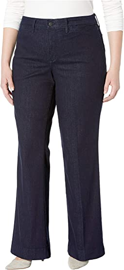 Plus Size Teresa Trousers in Rinse