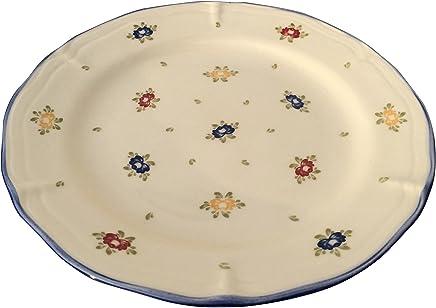 Preisvergleich für Zeller Keramik Teller flach Petite Rose 20cm